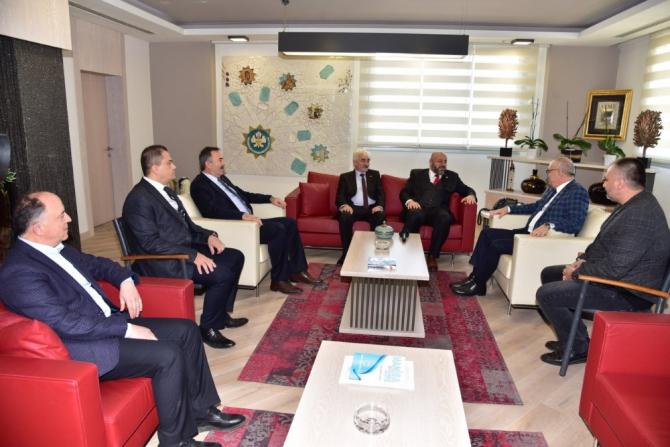 Soma'nın geleceği için Başkan Ergün'den destek istediler