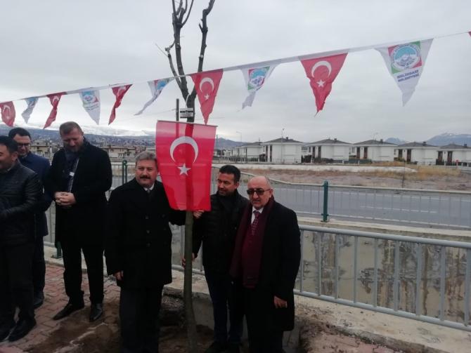 Basın mensupları, Çalışan Gazeteciler Gününde ağaç dikti