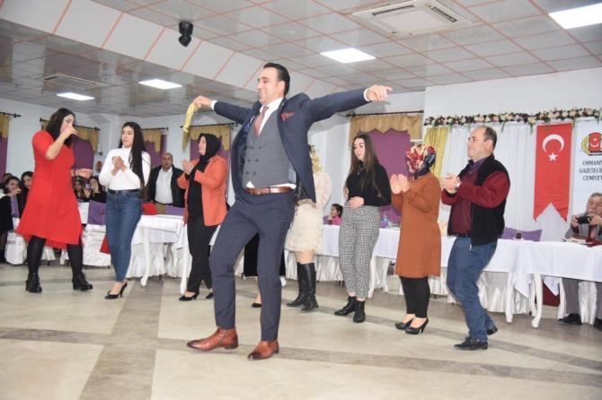 Osmaniye'de 10 Ocak Çalışan Gazeteciler Günü kutlaması