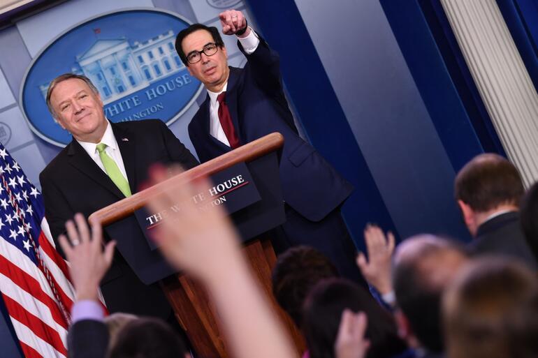 Amerika Birleşik Devletleri'nden İran'a yaptırım açıklaması!