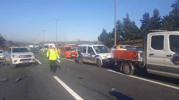 TEM Otoyolu'nda korkunç kaza: 2 kişi öldü