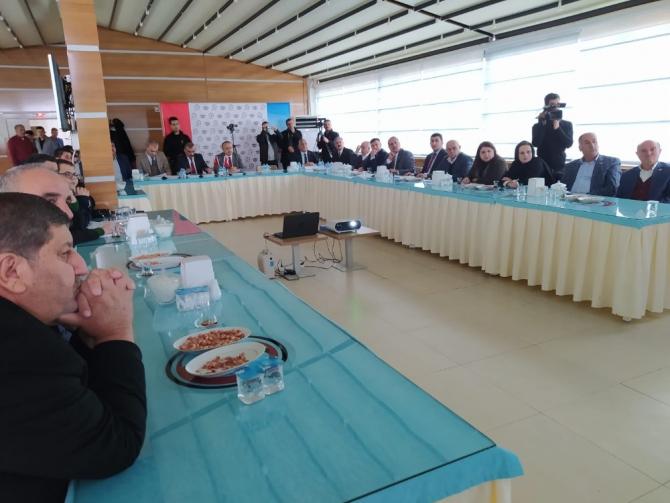 Siirt İl Özel İdaresi değerlendirme toplantısı düzenlendi