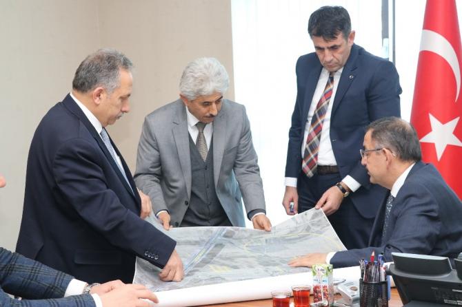 Talas'ın projeleri Ankara'da
