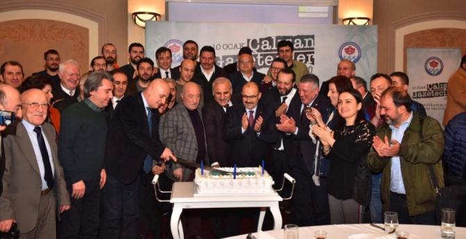 Başkan Zorluoğlu basın mensupları ile kahvaltıda buluştu