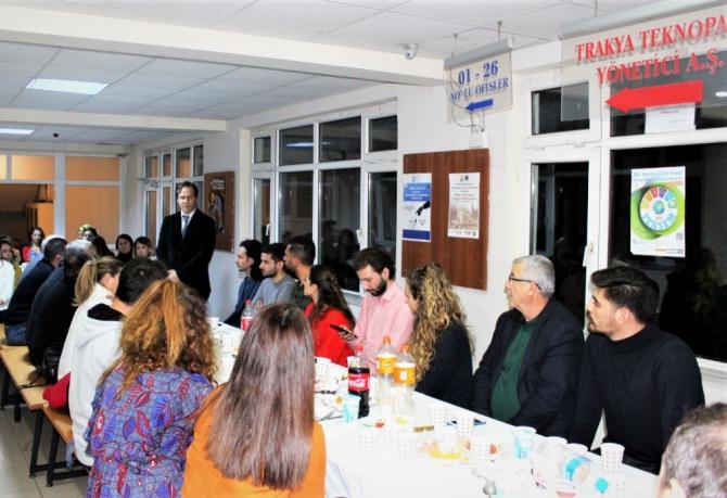 Trakya Üniversitesi Teknopark ailesi bir araya geldi