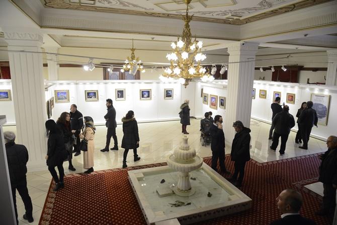 İran asıllı sanatçıdan Pendik'te ikinci sergi: ''Sinan'ın İstanbul'u''