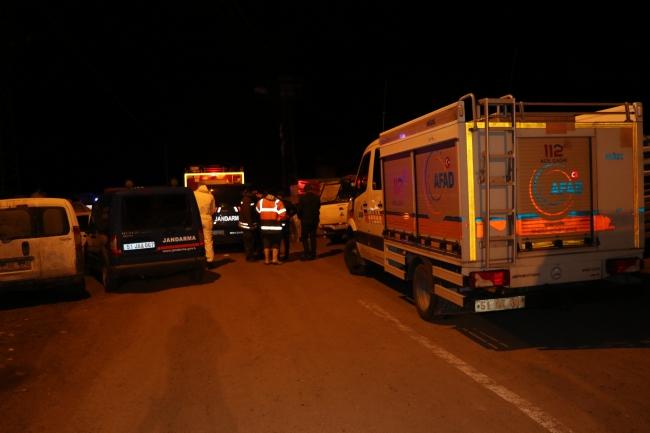 Niğde'de ev yangını: 2'si çocuk 4 ölü,3 yaralı