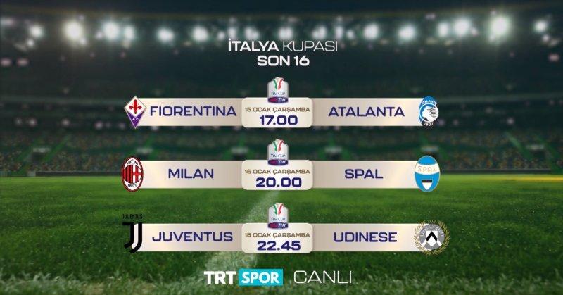 Bu hafta Trt Spor'da futbolseverler için 7 maç birden var!