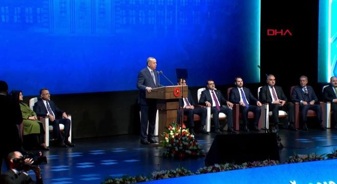Erdoğan, 2019 Yılı Değerlendirme Toplantısında konuşuyor (CANLI)