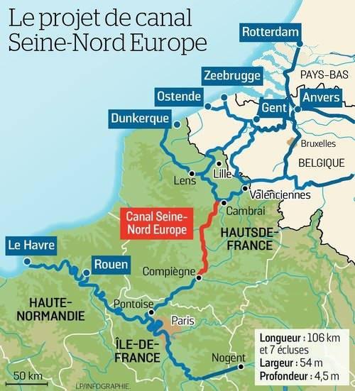 Kanal İstanbul Projesi ile ilgili tartışmalar sürerken Fransa'dan dev kanal projesi