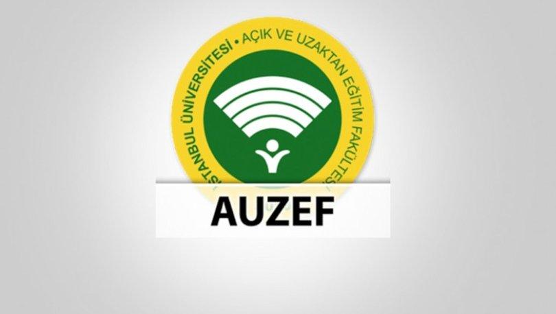 AUZEF sınav sonuçları 2020 açıklandı! İşte sonuç öğrenme linki!