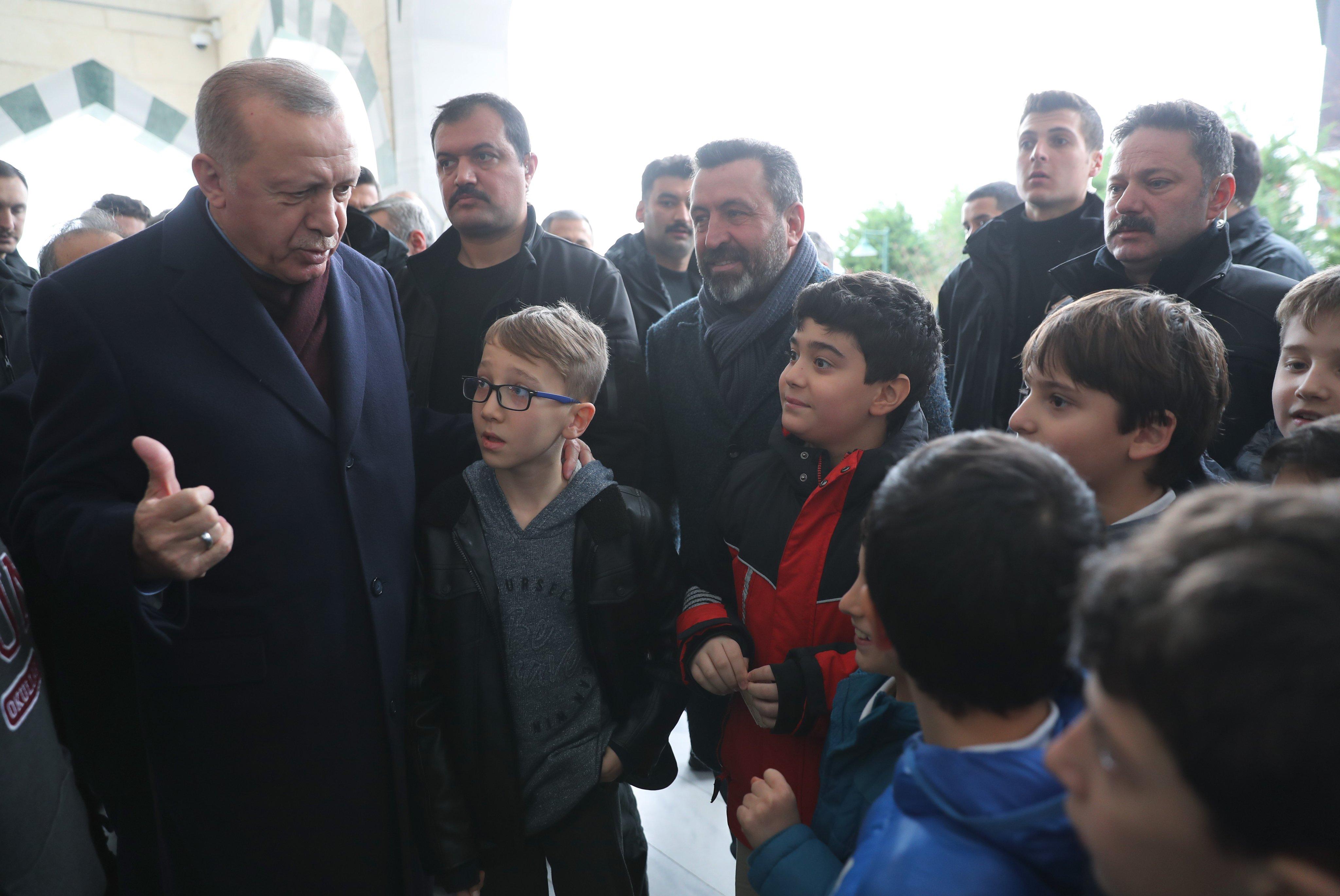 Erdoğan: Kanal İstanbul konusu bu şahsın (Ekrem İmamoğlu) konusu değil