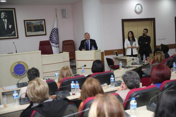 """Seyhan'dan kadınlar için """"Acil Yardım"""" protokolü"""