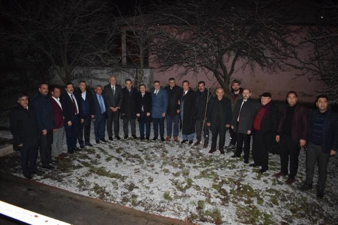 Milletvekili Kahtalı Kış Sohbetleri Programı'na konuk oldu