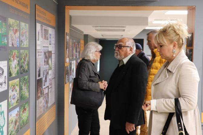 Yavuz Özkan sergisi beğeni topluyor