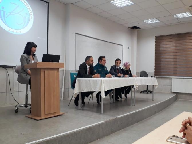 Kilis'te Dünya Gümrük Günü söyleşisi