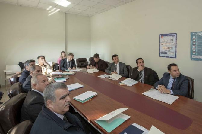İpekyolu'nda 'Bağımlılıkla Mücadele İlçe Koordinasyon Kurulu' toplantısı