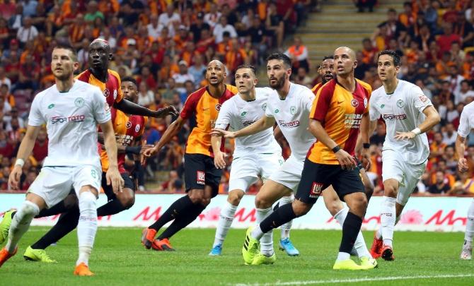 Galatasaray, Konyaspor deplasmanında
