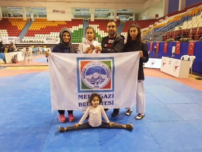 Melikgazi Belediyesi Spor Kulübü'nden milli takıma 4 sporcu