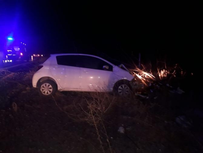 Otomobil şarampole indi: 8 yaralı