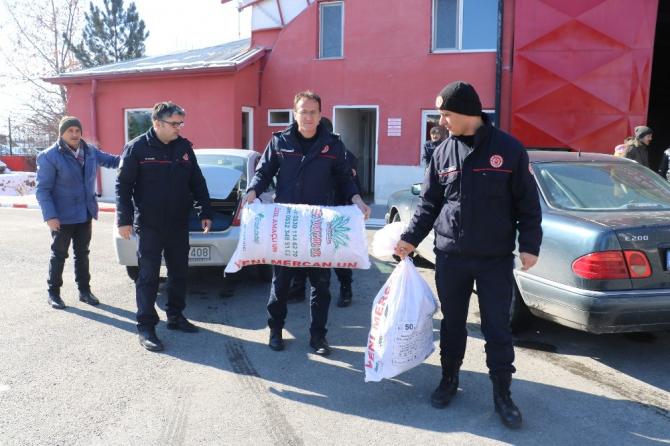 Sivas'ta yardım seferberliği