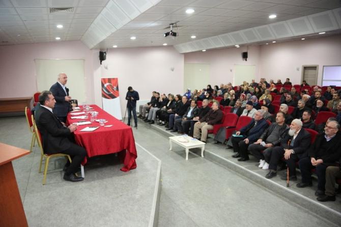 Başkan Bıyık, Bayramoğlu'nda vatandaşları dinledi