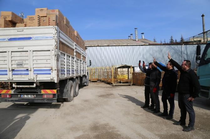 Eskişehir Sanayi Odası ve üyelerinden Elazığ'a destek