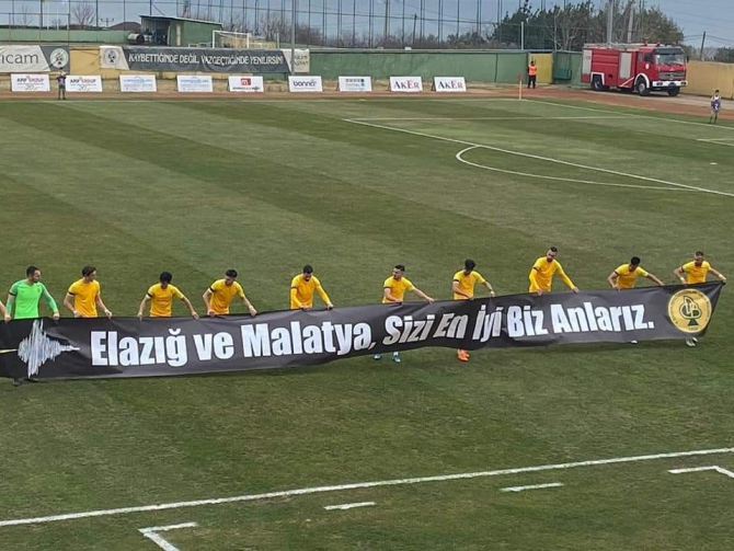 Yeşilyurt Belediyespor 1-1 berabere kaldı