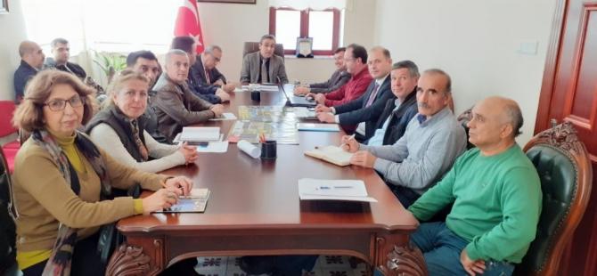 Kuşadası Tülüşah koruma eylem planı yıl sonu değerlendirme toplantısı yapıldı