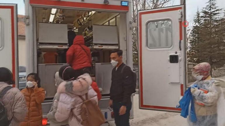 Karantinaya alındılar! Aksaray'da koronavirüs paniği