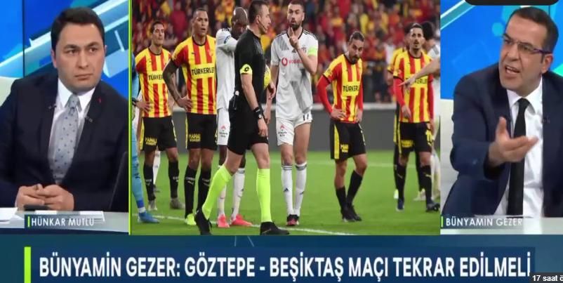 Göztepe Beşiktaş maçı tekrarlanabilir!