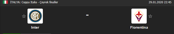 İnter Fiorentina maçı ne zaman, saat kaçta? İnter Fiorentina maçı hangi kanalda?