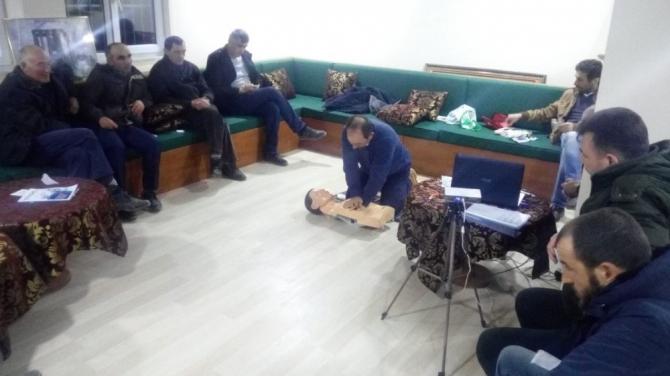 Avcılara ''Uygulamalı İlk yardım'' eğitimi