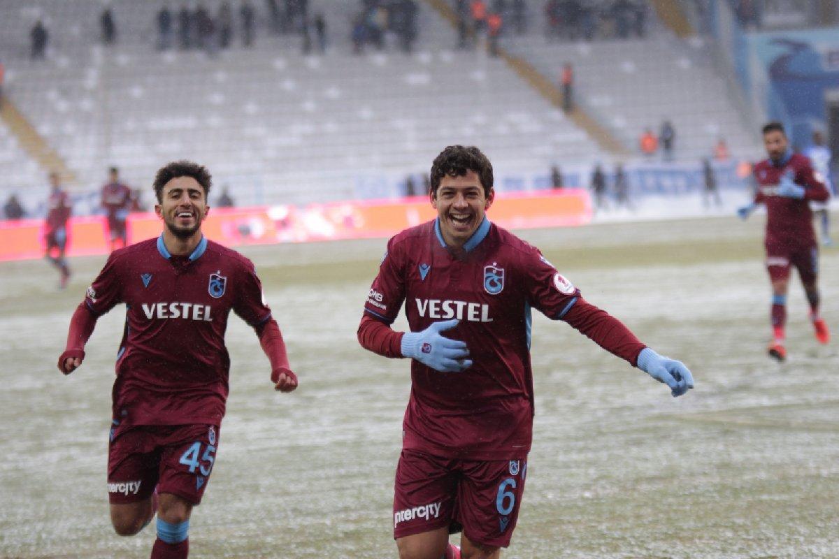 Erzurumspor Trabzonspor maç sonucu | Erzurumspor Trabzonspor maç özeti