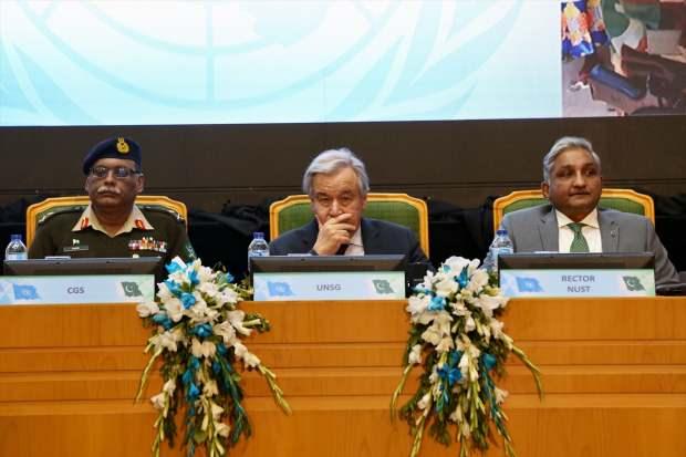 Birleşmiş Milletler Genel Sekreteri Antonio Guterres'ten 'Tevbe Suresi' vurgusu