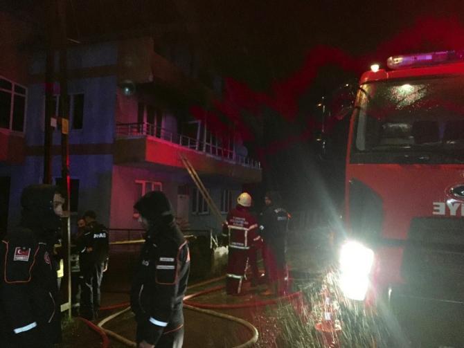 Bartın'da yangın: Babaanne ve 2 torunu hayatını kaybetti