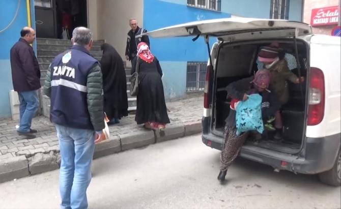 Elazığ'da 97 dilenciye 15 bin 708 lira ceza kesildi