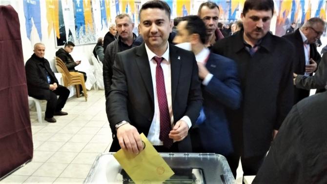 AK Parti Alaplı ilçe kongresi yapıldı