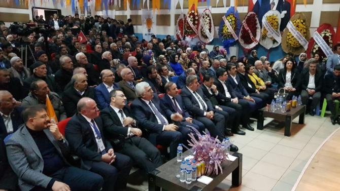 Aşkale Ak Parti'de kongre heyecanı