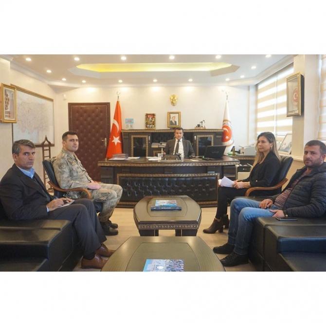 Gercüş'te otobüs kazalarının önlenmesi için toplantı yapıldı