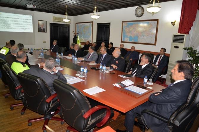 Bolu'da otobüs kazalarının önlenmesine yönelik toplantı yapıldı