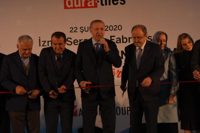 """Cumhurbaşkanı Erdoğan: """"Bu ülkede taş üstüne taş koyanın başımız üstünde yeri vardır"""""""