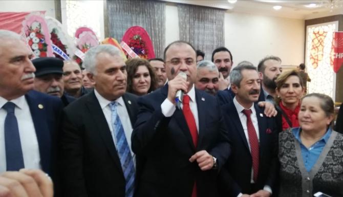 CHP'nin Tokat İl Başkanı Kurtgöz oldu