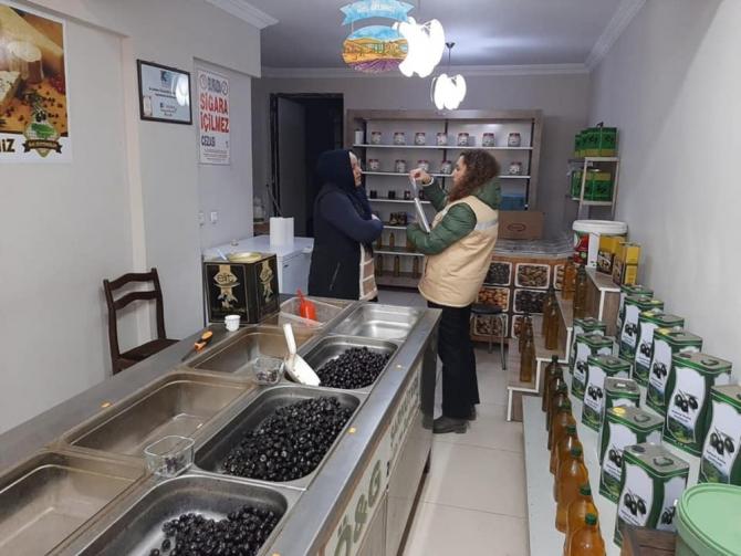 Erdek'te gıda denetimleri sürüyor