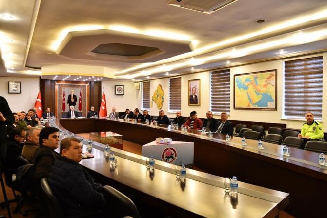 Isparta'da otobüs kazalarını önlenme toplantısı