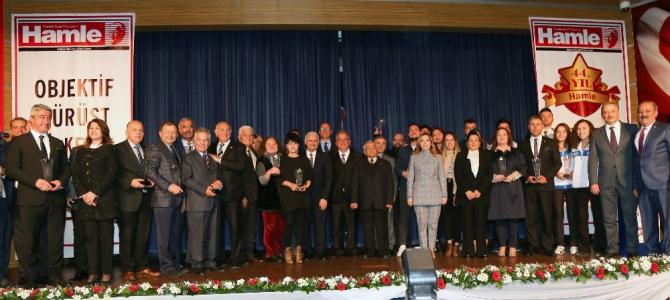 Muğla'da yılın en iyileri ödüllerini aldı