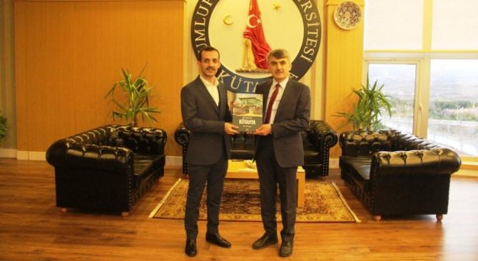 Poçanoğlu ve Özdemir'den Rektör Uysal'a ziyaret