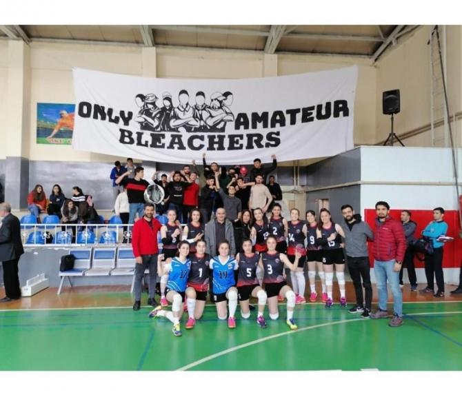 Van Büyükşehir Belediyesi Kadın Voleybol Takımı 1. lig yolunda