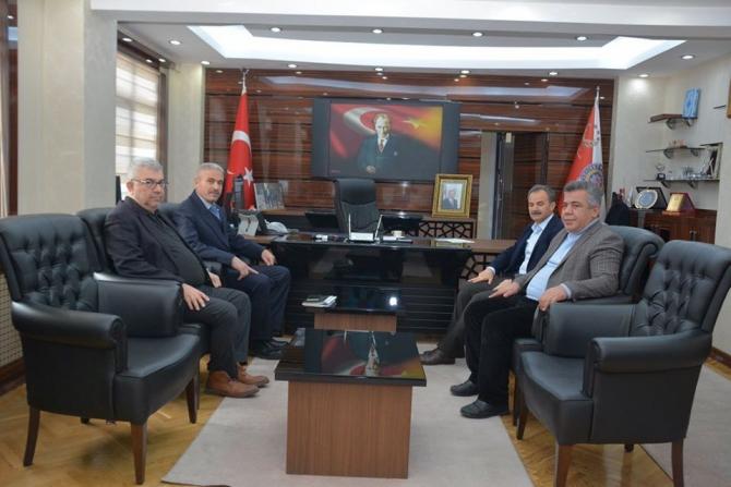 Kılınç'tan Emniyet Müdürü Ergüder'e nezaket ziyareti