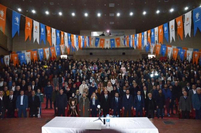 AK Parti Batman genişletilmiş il danışma meclisi toplantısı yapıldı